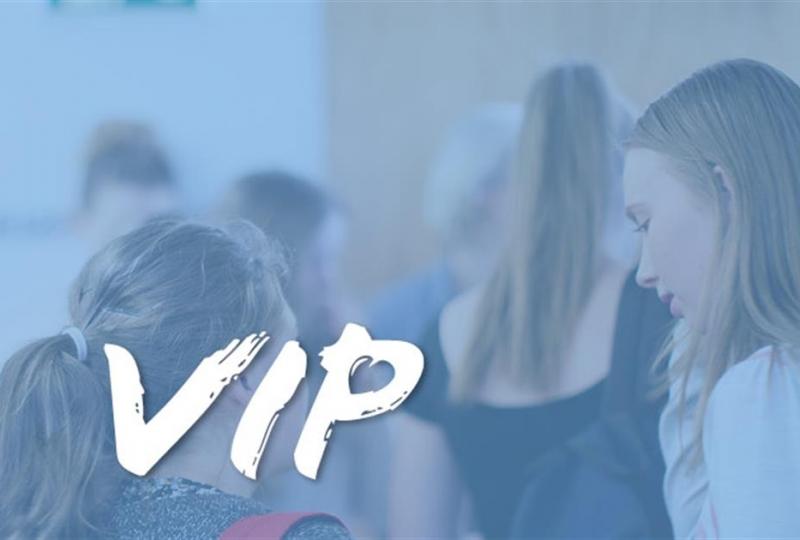 bilde som viser logoen til VIP-prosjektet