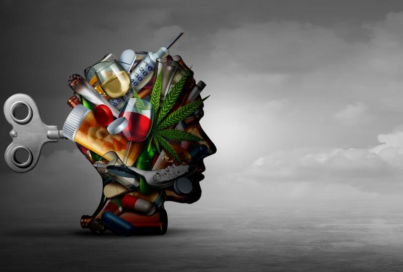 hode med ymse narkotikum